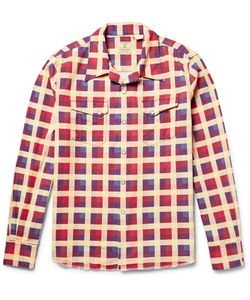 Levi'S Vintage Clothing | Shorthorn Camp-Collar Checked Cotton-Flannel Shirt