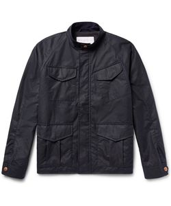 Private White V.C. | Private V.C. Track Waxed-Cotton Jacket