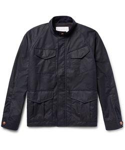 Private White V.C. | Private V.C. Track Waxed-Cotton Jacket