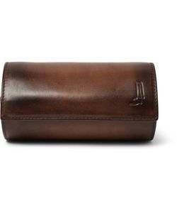 BERLUTI | Polished-Leather Watch Roll