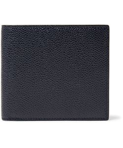 Thom Browne | Pebble-Grain Leather Billfold Wallet