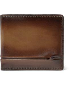 BERLUTI   Makore Polished-Leather Billfold Wallet
