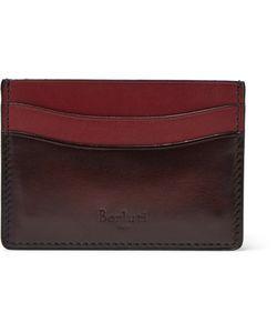 BERLUTI   Bambou Polished-Leather Cardholder