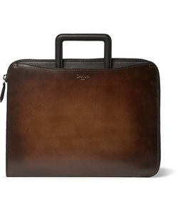 BERLUTI | Lift Polished And Full-Grain Leather Briefcase