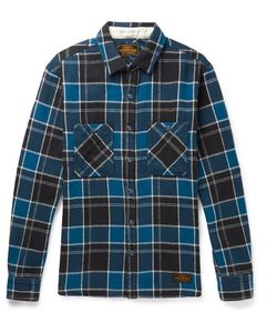 Neighborhood | Checked Cotton-Flannel Shirt