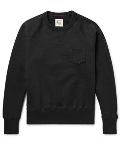 Todd Snyder + Champion | Fleece-Back Cotton-Blend Jersey Sweatshirt
