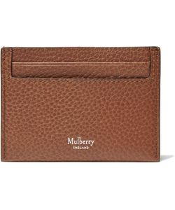 Mulberry | Full-Grain Leather Cardholder
