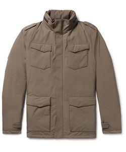 Herno Laminar   Slim-Fit Padded Gore-Tex Hooded Down Jacket
