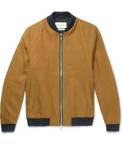 Oliver Spencer | Bermondsey Linen Bomber Jacket