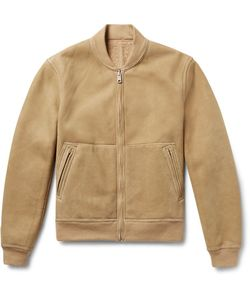 TODD SNYDER | Reversible Shearling Bomber Jacket