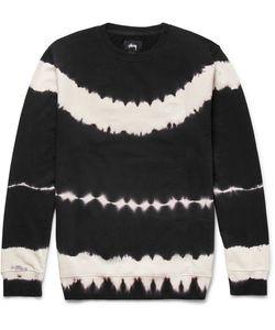 Stüssy | Tie-Dyed Loopback Cotton-Jersey Sweatshirt