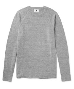 NN07 | Casper Linen And Wool-Blend Sweater