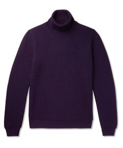 Altea | Ribbed Wool Rollneck Sweater