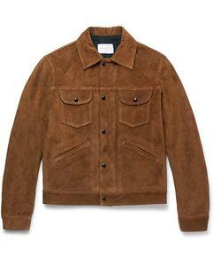 Sandro | Slim-Fit Suede Jacket
