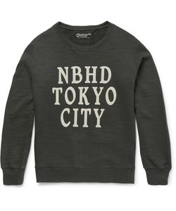 Neighborhood | Printed Loopback Cotton-Jersey Sweatshirt