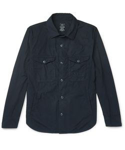 SAVE KHAKI UNITED | Cotton-Poplin Overshirt