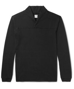 Sasquatchfabrix | Shawl-Collar Brushed-Cotton Jersey T-Shirt