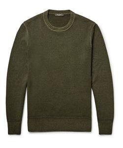 BERLUTI | Garment-Dyed Cashmere Sweater