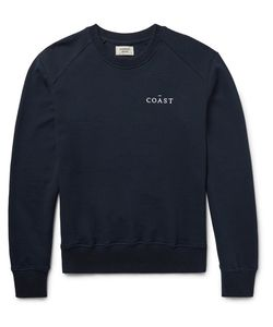 Everest Isles | Embroide Loopback Cotton-Jersey Sweatshirt