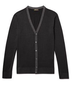BERLUTI   Garment-Dyed Wool Cardigan