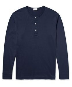 Handvaerk | Pima Cotton-Jersey Henley Pyjama Top