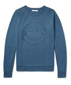 OUTERKNOWN | Happy Transit Printed Hemp-Blend Sweatshirt