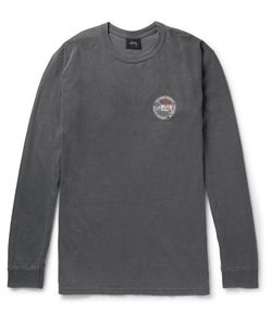 Stüssy | Slim-Fit Printed Cotton-Jersey T-Shirt