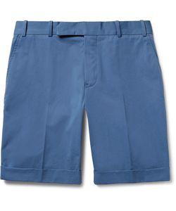 BERLUTI   Cotton-Twill Bermuda Shorts