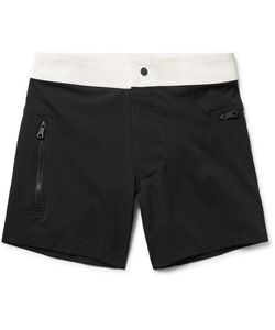 Everest Isles | Draupner Two-Tone Mid-Length Swim Shorts