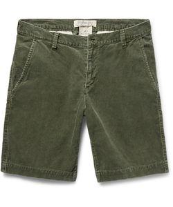 Remi Relief | Slim-Fit Cotton-Blend Corduroy Shorts
