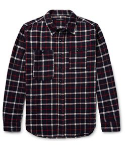 Engineered Garments | Checked Cotton-Flannel Shirt