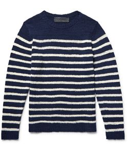 The Elder Statesman | Picasso Striped Cashmere Sweater