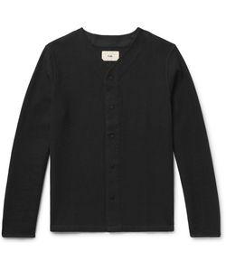 Folk | Waffle-Knit Cotton Overshirt