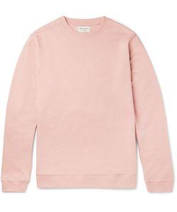 Oliver Spencer Loungewear | Fleece-Back Cotton-Jersey Sweatshirt
