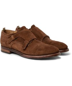 Officine Creative | Princeton Suede Monk-Strap Shoes