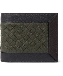 Bottega Veneta | Intrecciato-Trimmed Full-Grain Leather Billfold Wallet