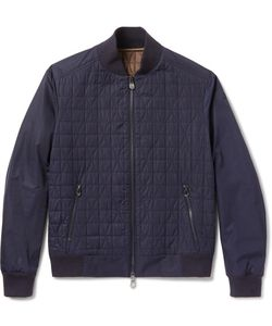 BERLUTI | Quilted Shell Bomber Jacket