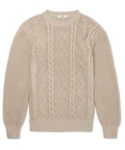 INIS MEÁIN | Inis Meáin Organic Pima Cotton Aran Sweater