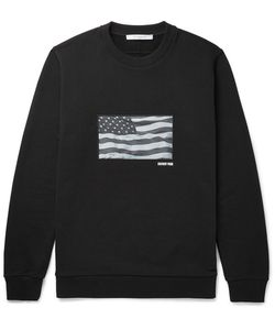 Givenchy | Cuban-Fit Printed Fleece-Back Cotton-Jersey Sweatshirt