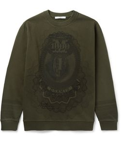 Givenchy | Cuban-Fit Printed Fleece-Back Cotton-Jersey Sweatshirt