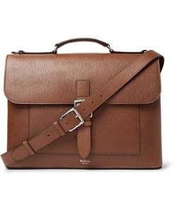 Mulberry | Chiltern Pebble-Grain Leather Briefcase
