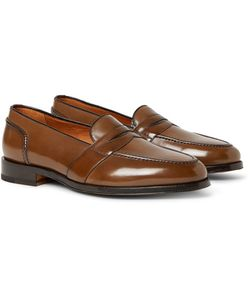 Tom Ford | Taylor Polished-Leather Penny Loafers