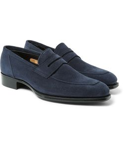 Kingsman | George Cleverley Newport Suede Penny Loafers