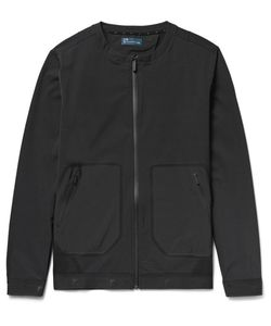 Under Armour Sportswear | Pivot Slim-Fit Stretch-Jersey Bomber Jacket