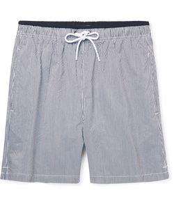 NN07 | Jules Mid-Length Striped Swim Shorts
