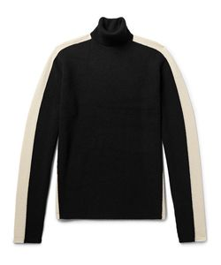 TODD SNYDER | Two-Tone Merino Wool Rollneck Sweater