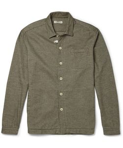 Oliver Spencer Loungewear | Cotton-Flannel Overshirt