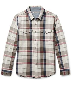 OUTERKNOWN | Checked Organic Cotton-Twill Shirt
