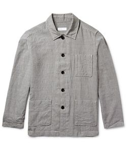 Several | Watkins Checked Wool And Linen-Blend Shirt Jacket