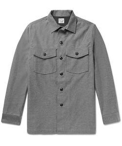 Orslow | Slub Cotton Shirt Jacket